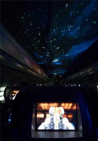 اتوبوس بسیار زیبای فضایی در ژاپن (عکس)