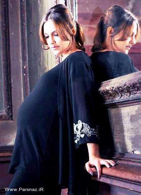 عکسهای مریم اوزرلی (خرم سلطان) در آخرین ماه بارداری