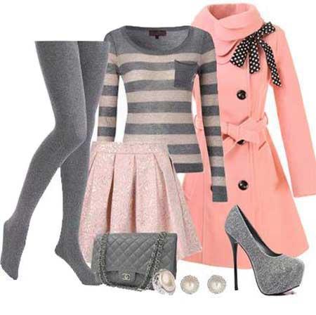 ست مدل لباس زنانه کریسمس برای سال 2014