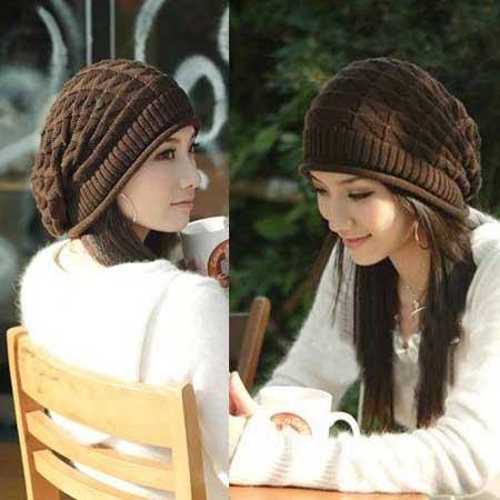 مدل کلاه بافتنی دخترانه (4)