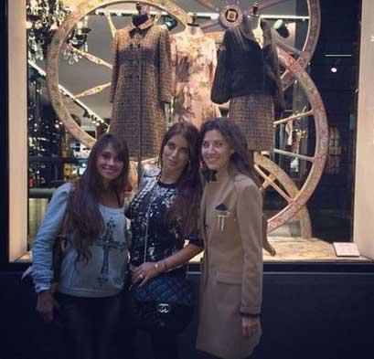 همسران سه ستاره فوتبال تیم بارسلونا +عکس