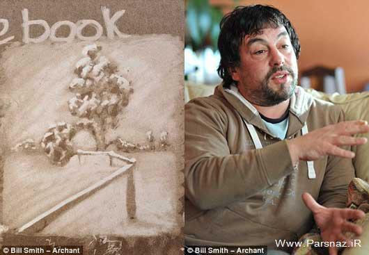 کار جالب این مرد هنرنمایی روی ماشین کثیف +عکس