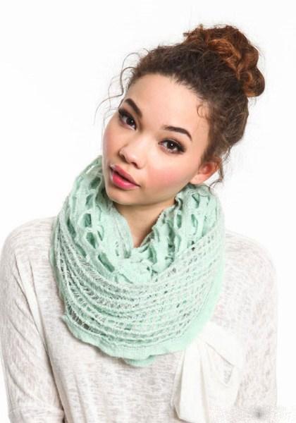 مدل شال گردن دخترانه - سری اول