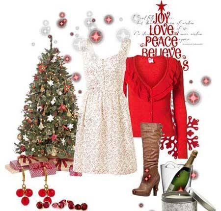 مدل ست مجلسی کریسمس ویژه سال 2014