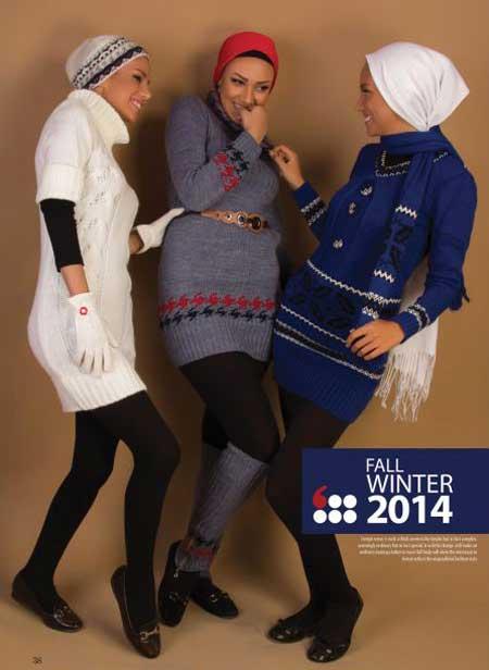 مدل کاتالوگ لباس های شیک زمستانی