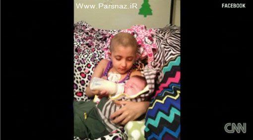 آواز 10 هزار نفری برای دختر بچه سرطانی +عکس