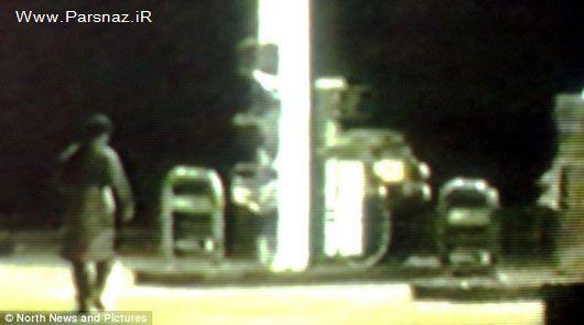 این مرد به خوردن بنزین معتاد است + عکس