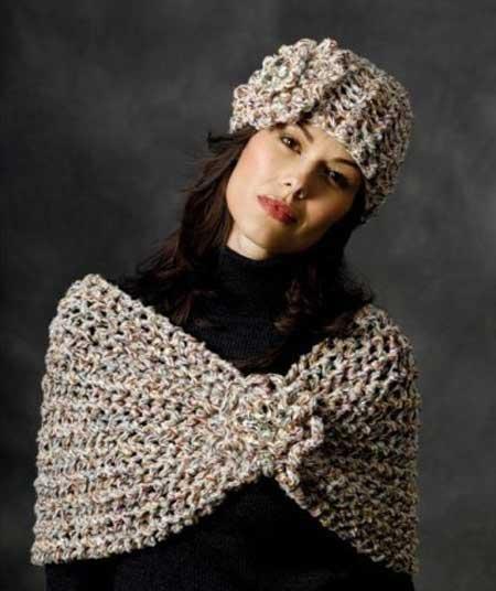 مدل شال و کلاه 2019 - سری جدید