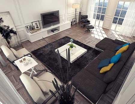 مدل جدید کف پوش چوبی برای زیبایی دکوراسیون خانه