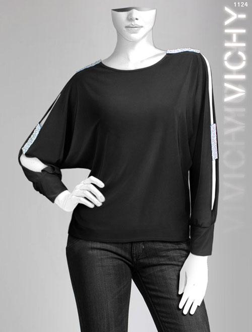 مدل بلوز شلوار مجلسی مشکی 2014