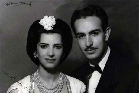دختر مسیحی رضا خان پهلوی!! + عکس