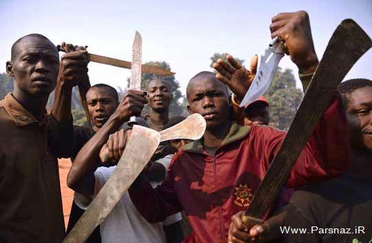 اقدام وحشتناک مسلمان خواری در آفریقا (عکس)