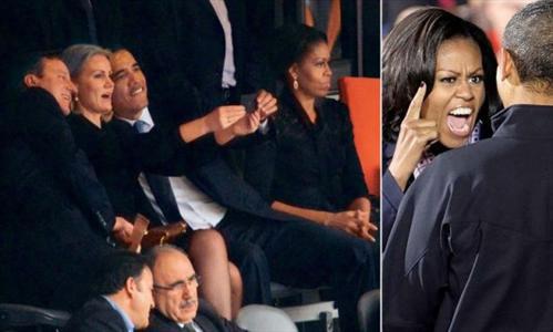 بحث داغ جدایی اوباما از خانم میشل (عکس)