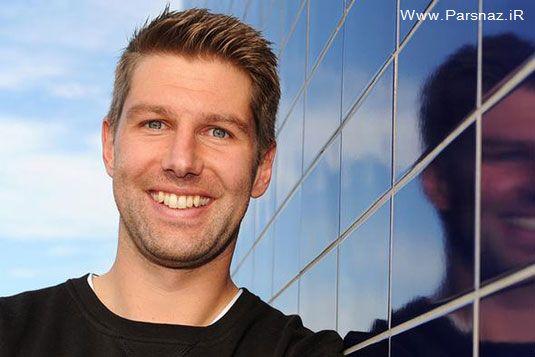 فوتبالیست مشهور آلمانی در دام همجنس گرایی + عکس