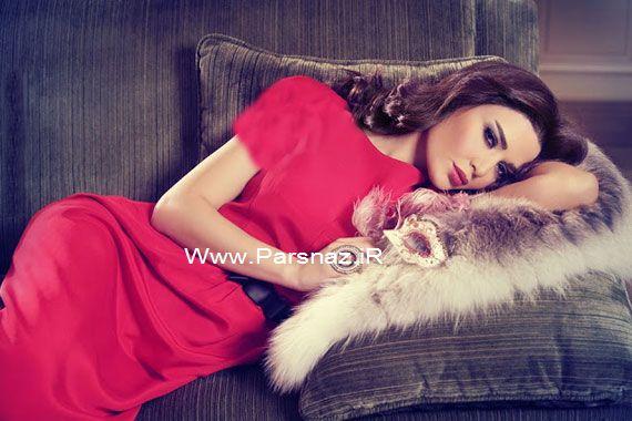 زیباترین زن لبنان در سال 2013 انتخاب شد (عکس)