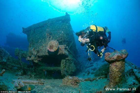 عکس های جالب از سلاح های جنگی در زیر دریا