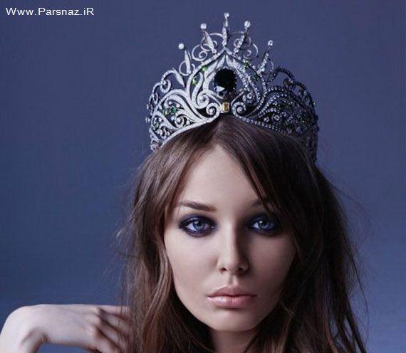 عکس های زیباترین و گران ترین مانکن روسی