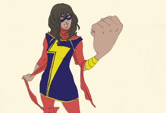 سوپرمن جدید آمریکا یک دختر مسلمان است (عکس)