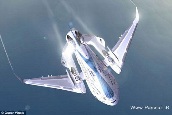 هواپیمای جالب مشهور به نهنگ آسمان (عکس)