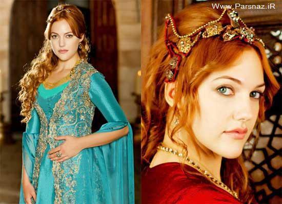 ششمین زن زیبای جهان خرم سلطان شد + عکس