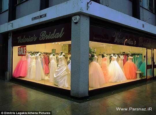 سرقت لباس عروس 24 میلیون تومانی توسط این مرد +عکس