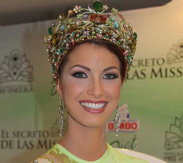 عکسهای زیباترین دختر شایسه ونزوئلا در سال 2014