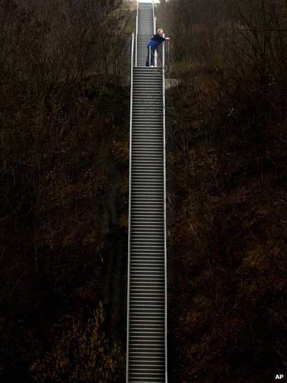 راه پله آسمانی + عکس