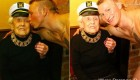 هوسرانی این زن 100 ساله در مسافرخانه (عکس)