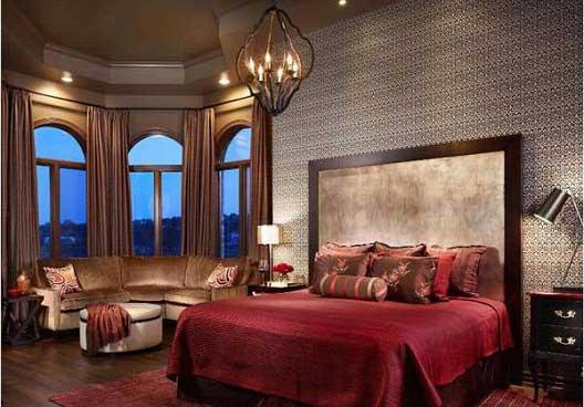 دکوراسیون اتاق خواب رمانتیک و دکوراسیون اتاق عروس