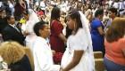 مراسم ازدواج 130 زوج همجنسگرا در کشور برزیل + عکس