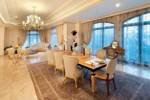 تصاویری از خانه بسیار زیبا و شیک علی دایی و کریم باقری