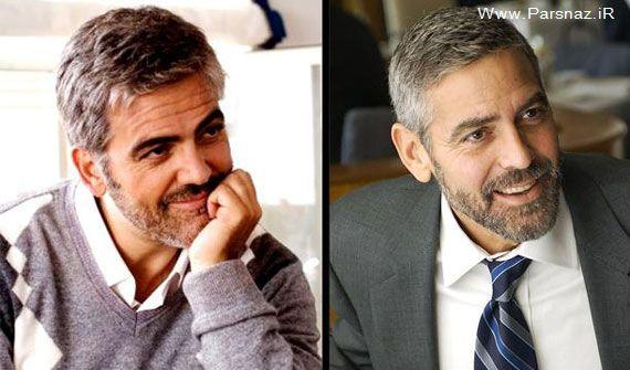 بازیگران معروف هالیوود و همزادهای آنها (عکس)