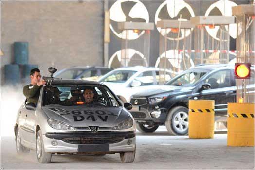 نخستین مسابقه بدلکاران حرفه ای در ایران (عکس)