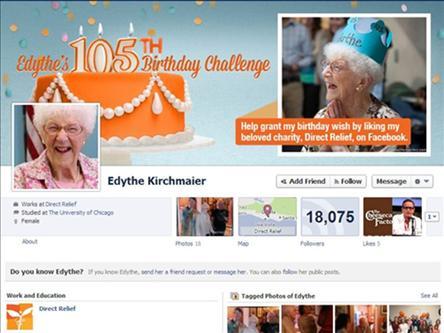 پیرترین کاربر فیسبوک چه کسی است؟ (عکس)