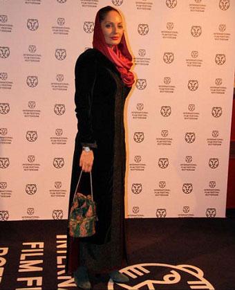 لباس مهناز افشار در جشنواره روتردام هلند (عکس)