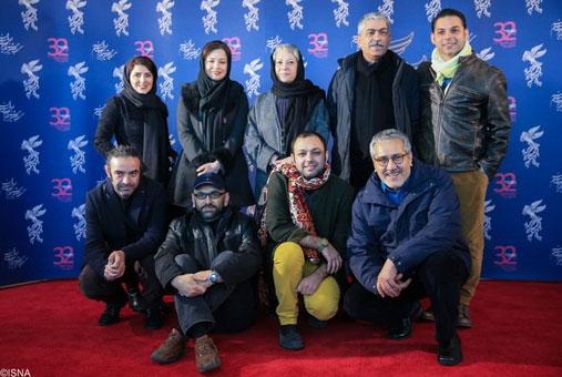 عکسهای بازیگران ایرانی در روز دوم جشنواره فجر