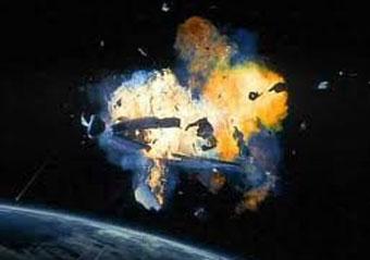 خطرناکترین تصادف فضایی در جهان!!