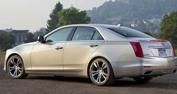بررسی اتومبیل کادیلاک CTS مدل 2014 +عکس