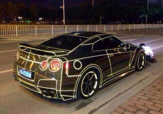 اسپرت کردن جالب اتومبیل به سبک چینی ها +عکس