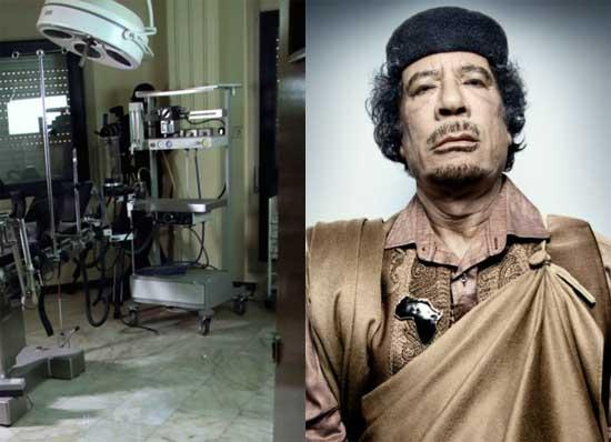 اتاق جنسی قذافی دیکتاتور سابق لیبی کشف شد (عکس)