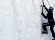 تلاش یخ نوردی بانوان (عکس)