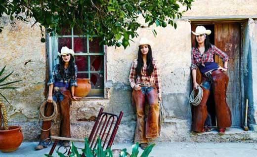 زنان گاوچران مکزیکی + عکس