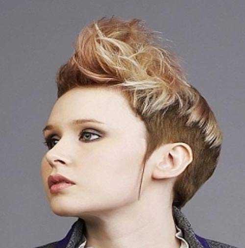 مدل مو کوتاه فشن دخترانه – سری 2014