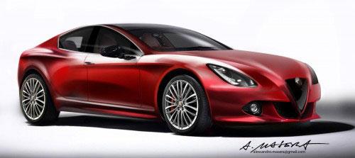 خودرو زیبای جورجیو پلتفرم جدید آلفا رومئو + عکس