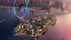 احداث شهربازی چشم دبی در ساحل جمیرا +! عکس
