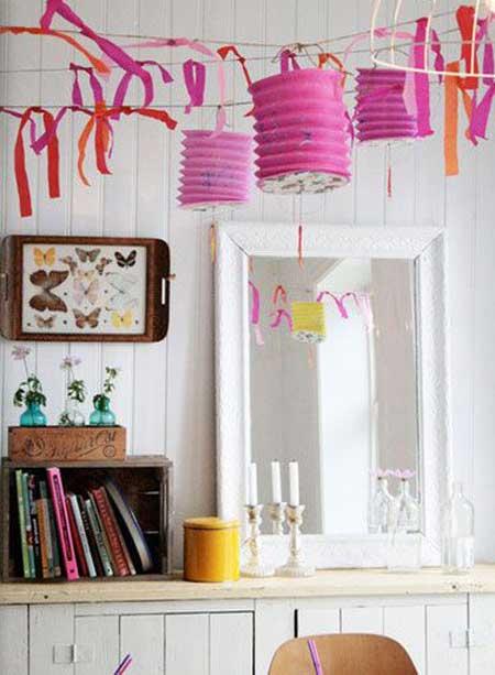 مدل تزیین خانه با سینی!! عکس