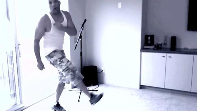 ون دیسل و رقص با اهنگ های از بیانسه و کیتی پری +عکس