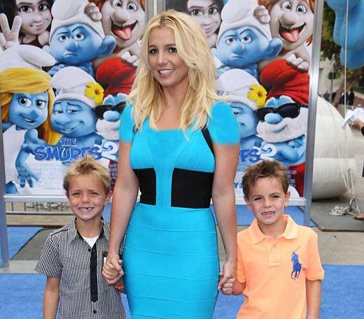 بریتنی اسپیرز جنجالی ترین مادر هالیوودی شد + عکس