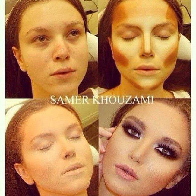 جادوی یک آرایشگر حرفه ای بر روی زنان زشت که زیبا شدند