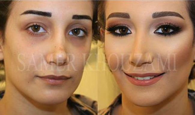 جورجی ارایشگر حرفه ای جادوی یک آرایشگر حرفه ای بر روی زنان زشت که زیبا شدند